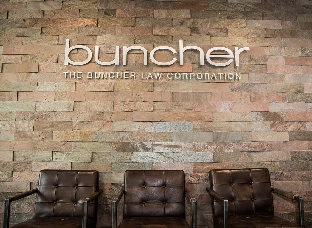 Buncher Family Law office lobby