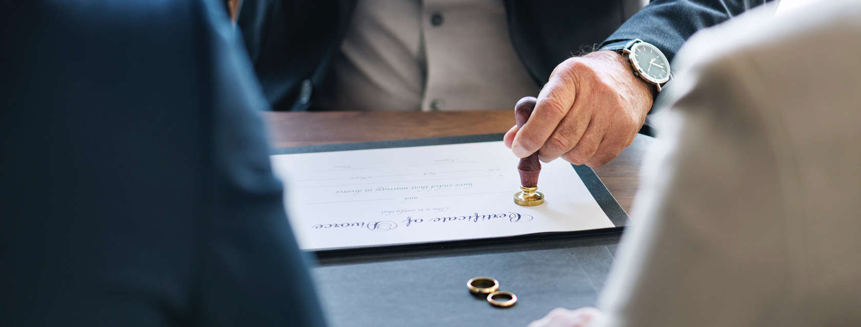 Divorce proceedings and dissolution of marriage