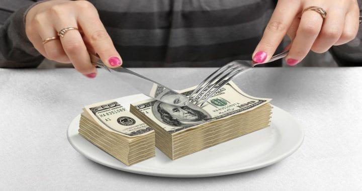 dividing debt in divorce