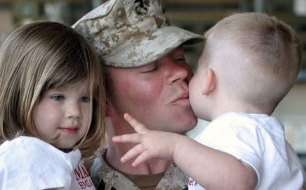 military personnel parental rights