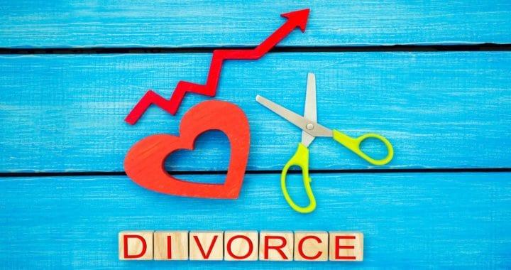 increased divorce rates