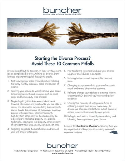 Starting the Divorce Process? Avoid These 10 Common Pitfalls