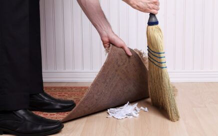 You Can't Sweep Divorce Under the Rug